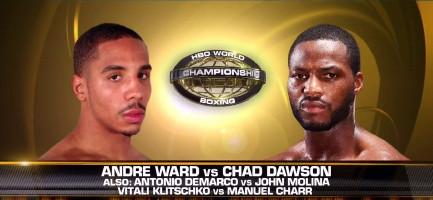 Andre Ward Antonio DeMarco Chad Dawson John Molina