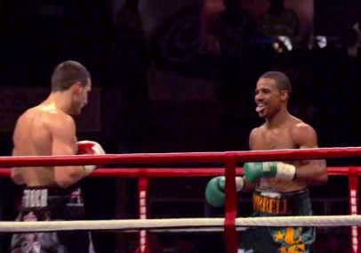 photo: carl froch andre dirrell