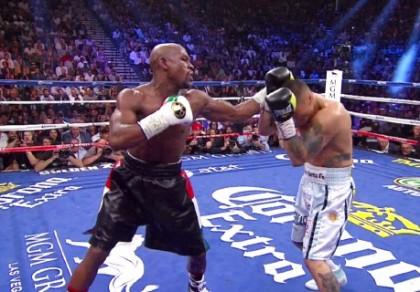 Floyd Mayweather Jr Marcos Rene Maidana Oscar De La Hoya Mayweather vs. Maidana Mayweather-Maidana