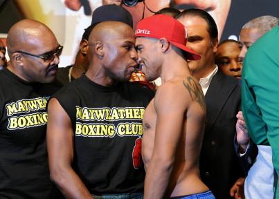 Morales Cano Morales vs. Cano Mayweather Ortiz Mayweather vs. Ortiz  victor ortiz floyd mayweather jr erik morales