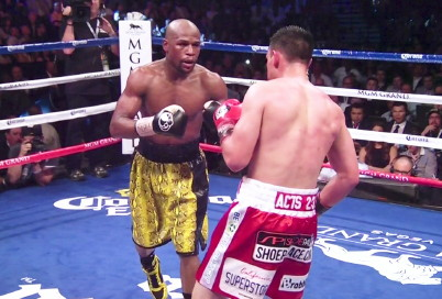 Super Fight  manny pacquiao floyd mayweather jr boxing
