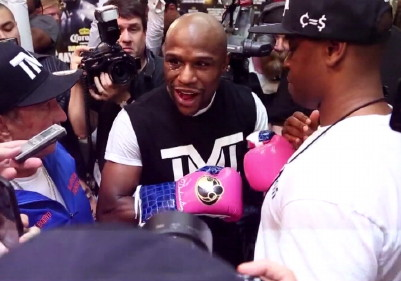 marcos rene maidana floyd mayweather jr  photo