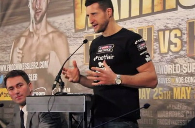 Carl Froch Latest Mikkel Kessler