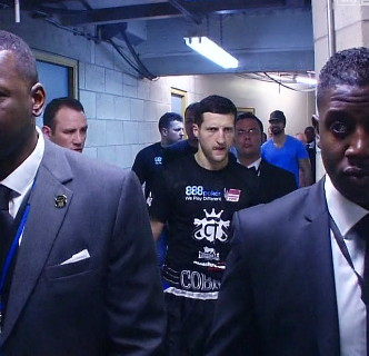 Carl Froch Nathan Cleverly Frank Warren