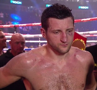 george groves carl froch  photo