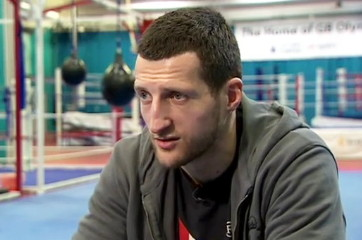 gennady golovkin carl froch  photo
