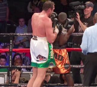 David Haye Steve Cunningham Tyson Fury