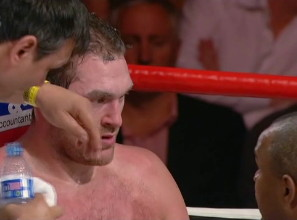 Steve Cunningham Tyson Fury Fury vs. Cunningham Fury-Cunningham