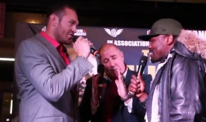 tyson fury derek chisora billy joe saunders  photo