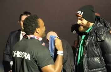 tyson fury derek chisora  photo