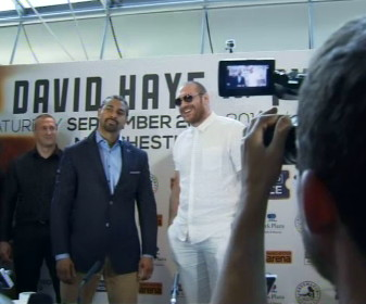 David Haye Tyson Fury