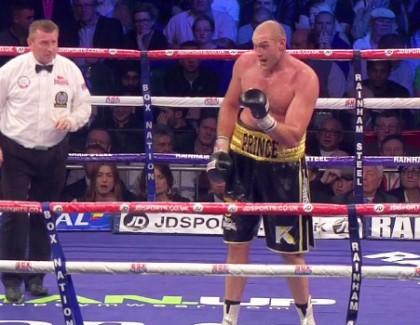 That Tyson amateur fights