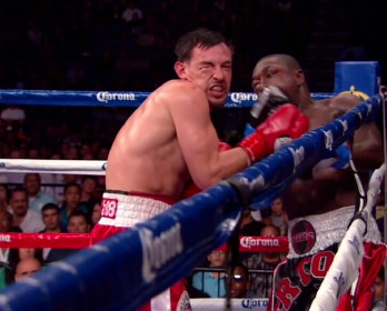 robert guerrero floyd mayweather jr  photo