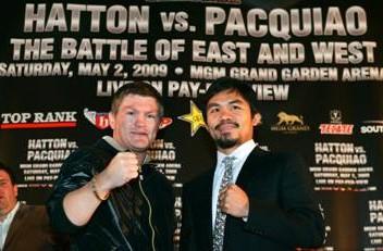 Jamie Moore Manny Pacquiao Ricky Hatton