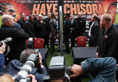 Haye Chisora Chisora vs. Haye  derek chisora david haye