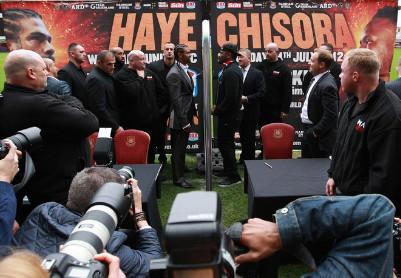 Haye Chisora Haye vs. Chisora  derek chisora david haye