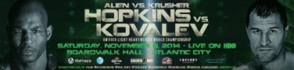 Bernard Hopkins Hopkins vs. Kovalev Hopkins-Kovalev Sergey
