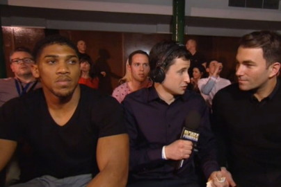 Anthony Joshua Carl Froch George Groves