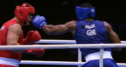 Joshua Zhang Joshua vs. Zhang  boxing
