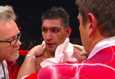 Amir Khan British Boxing