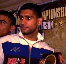 Amir Khan British Boxing Khan vs. Peterson Khan-Peterson