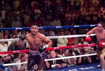Khan Garcia Khan vs. Garcia  freddie roach danny garcia amir khan