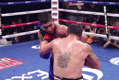 Khan Diaz Khan vs. Diaz  julio diaz amir khan