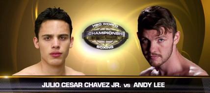 Andy Lee Julio Cesar Chavez Jr. Chavez-Lee