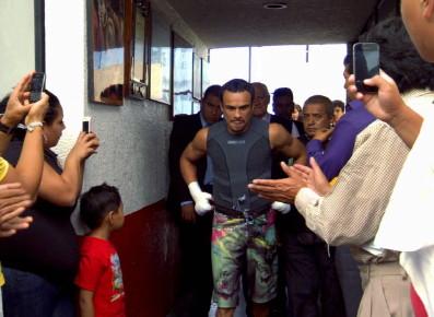 Juan Manuel Marquez Manny Pacquiao Bob Arum Pacquiao vs. Marquez 5 Pacquiao-Marquez 5