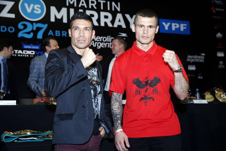 Martinez Murray Martinez vs. Murray  sergio martinez boxing
