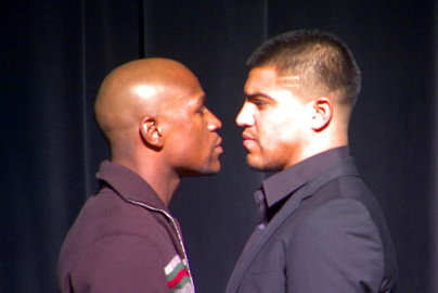 Amir Khan Floyd Mayweather Jr Manny Pacquiao Mayweather vs. Ortiz Mayweather-Ortiz