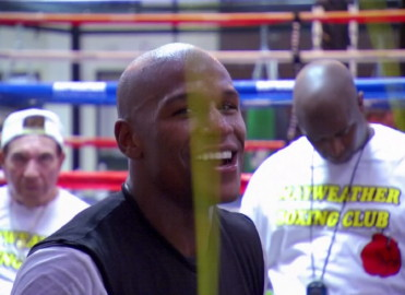 floyd mayweather jr amir khan  photo