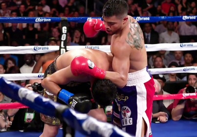 victor ortiz amir khan  photo