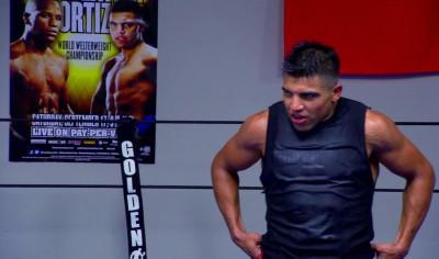 Ortiz Alvarez  victor ortiz saul alvarez