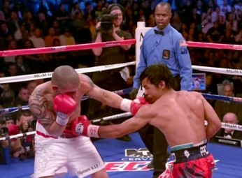 miguel cotto manny pacquiao  photo