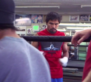 Freddie Roach Juan Manuel Marquez Manny Pacquiao