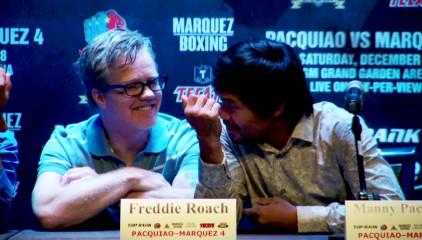Pacquiao Marquez Pacquiao vs. Marquez  manny pacquiao juan manuel marquez freddie roach