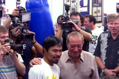 Manny Pacquiao Bob Arum