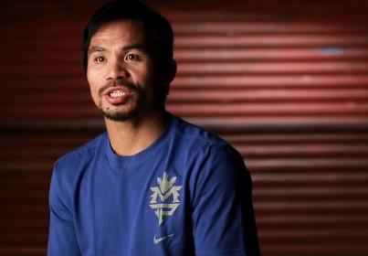 Floyd Mayweather Jr Freddie Roach Manny Pacquiao