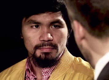 roy jones jr manny pacquiao brandon rios  photo