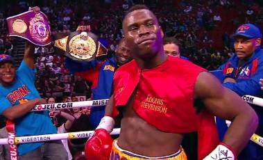 Stevenson George Stevenson vs. George  boxing