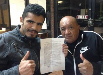 Miguel Vazquez Ricky Burns