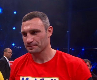 vitali klitschko manuel charr  photo