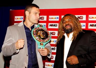 Shannon Briggs Vitali Klitschko Briggs vs. Klitschko Briggs-Klitschko