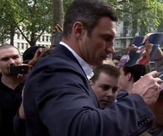 Klitschko Haye Klitschko vs. Haye  vitali klitschko david haye