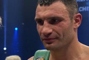 Derek Chisora Vitali Klitschko