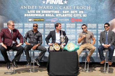 Andre Ward Carl Froch Ward vs. Froch Ward-Froch