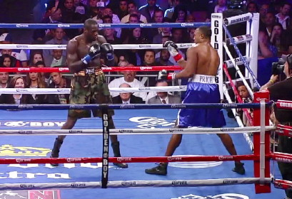 deontay wilder boxing audley harrison  photo