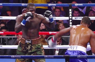 deontay wilder audley harrison  photo