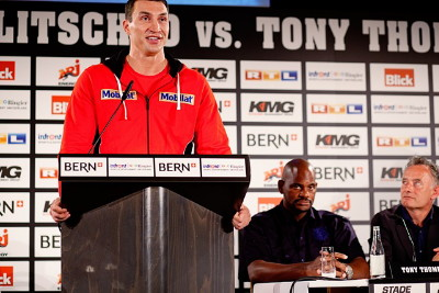 Klitschko Thompson Klitschko vs. Thompson  wladimir klitschko tony thompson